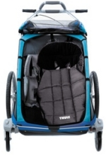 Cyclepath Brampton Thule Chariot Bunting Bag In Trailer
